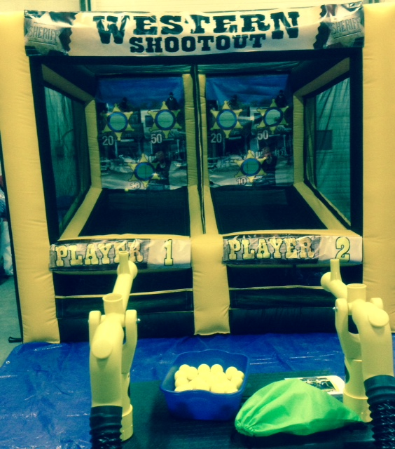 Air Cannon Game Fun for all ages. Yes you!