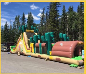stampede obstacle course