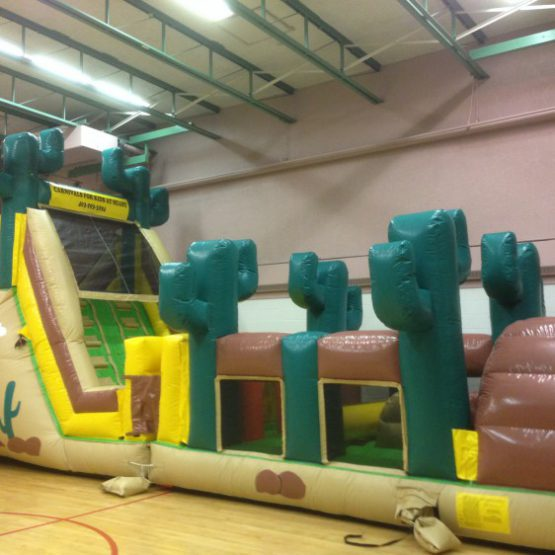 Country western inflatable